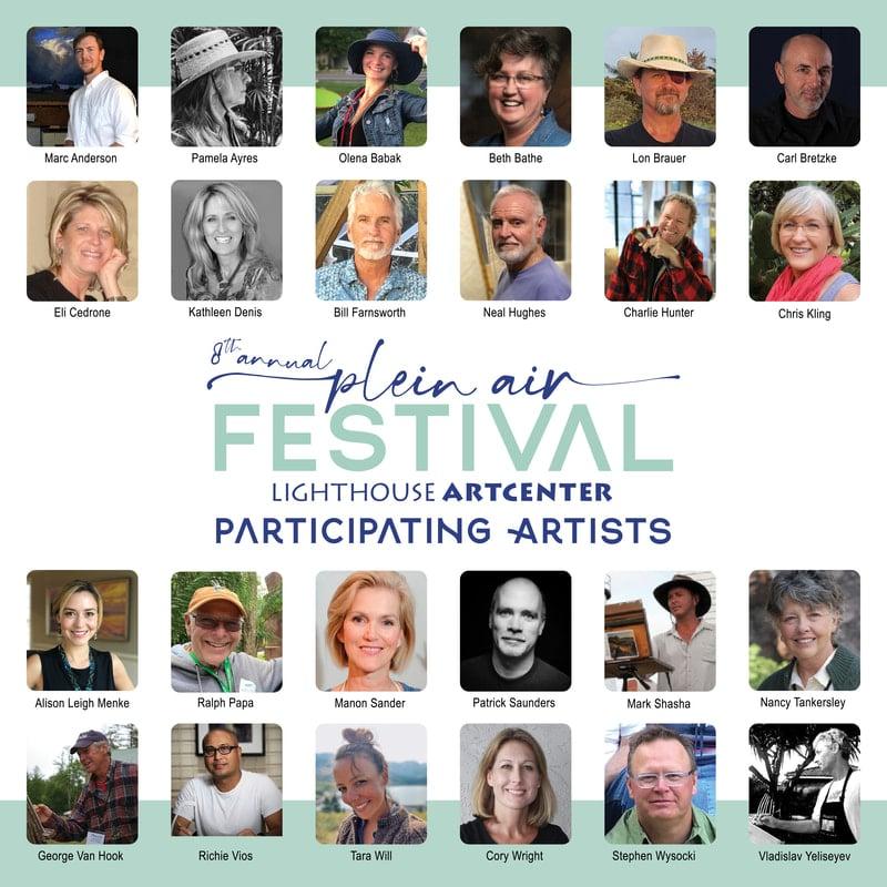 2021 Plein Air Festival Participating Artists