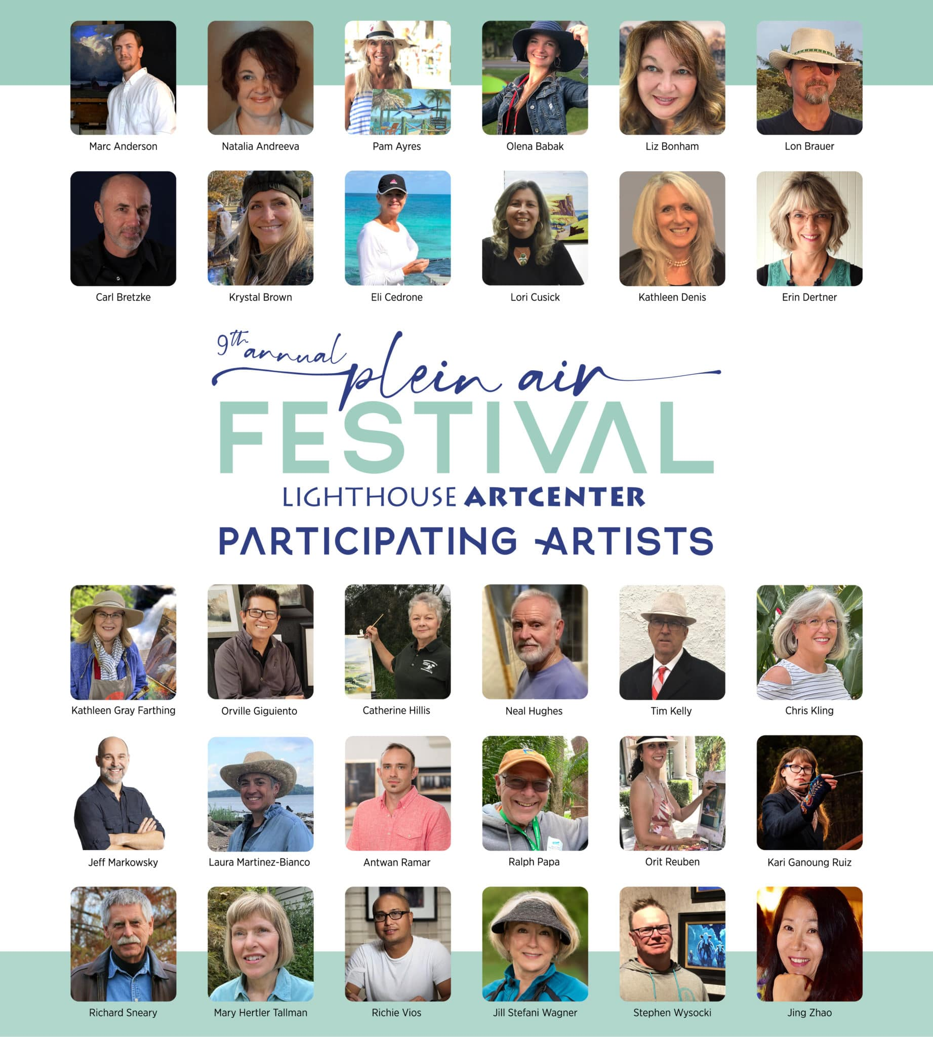 Participating Artists WEB